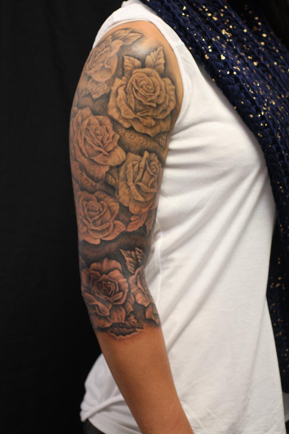 Bloemen Tattoo Tattoo Bob