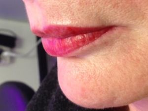 Full lips m.b.v. permanente make-up bij Tattoo Bob Rotterdam