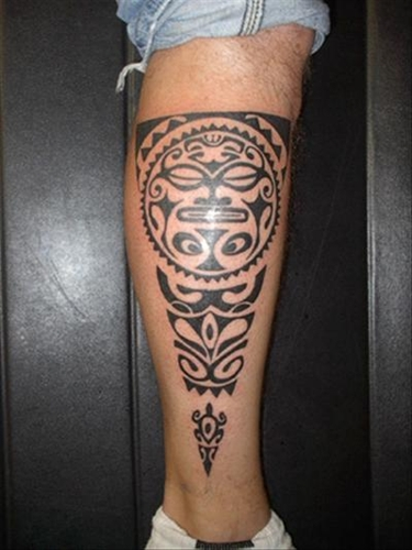 Wonderbaarlijk Maori Tattoo Kuit - Best Tattoo Ideas ZA-84