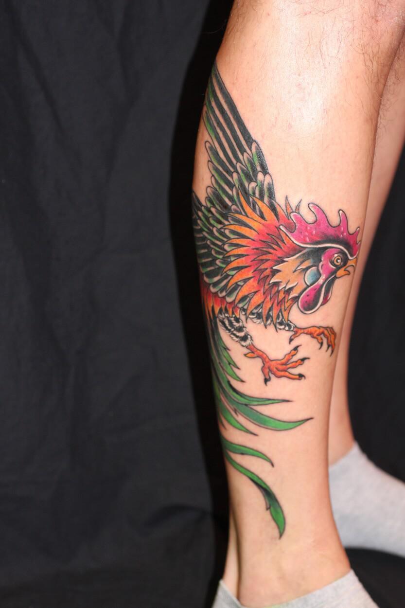 Uitzonderlijk Tattoo-kuit-onderbeen @NN48