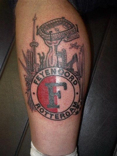 Fabulous Tattoo-kuit-onderbeen #BU25