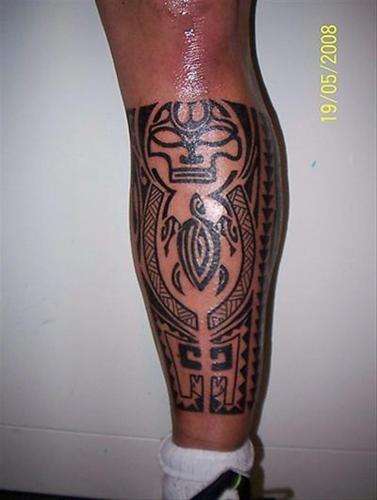 Iets Nieuws Tattoo-kuit-onderbeen &WZ17