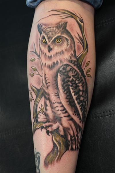 Bekend Tattoo-kuit-onderbeen #PQ72