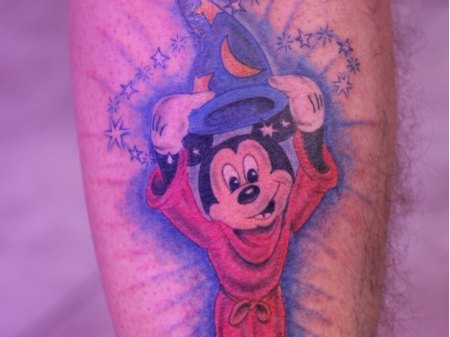 tattoo disney mickey mouse