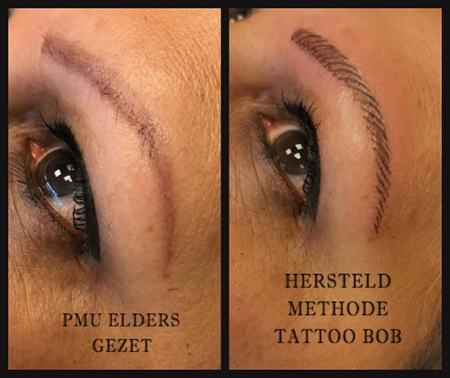 Permanente Make Up Wenkbrauwen Tatoeëren Pmu